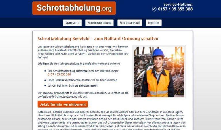 Mobile Schrotthändler in Bielefeld – schnell und zuverlässig!