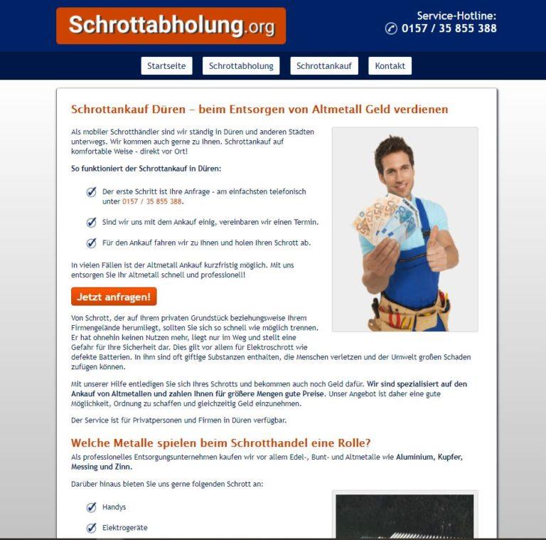 Der Schrottankauf Düren Garantiert Faire Preise Und Professionelles Schrott-Recycling