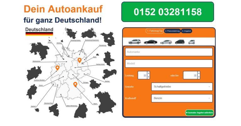 Der Autoankauf Bayreuth kauft Gebrauchtwagen aller Art im gesamten Stadtgebiet von Bayreuth