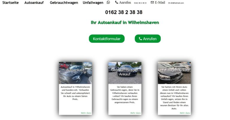 """Auto verkaufen in ihrer Stadt zum Höchstpreis. Kostenlose Abholung in über all. Bei """"ot-autoankauf.de"""""""