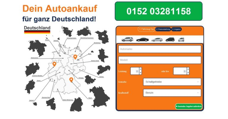 Gebrauchtwagen jeder Marke und aller Modelle: Der Autoankauf Münster gibt für jedes Auto ein attraktives Angebot ab