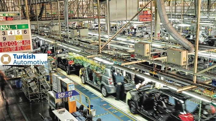 Seit 2006 ist die türkische Automobilindustrie führend in der Exportwirtschaft Deutschland ist mit 14,4 Mrd. US-Dollar das Top-Exportziel für Produkte der türkischen Automobil- und Zulieferindustrie