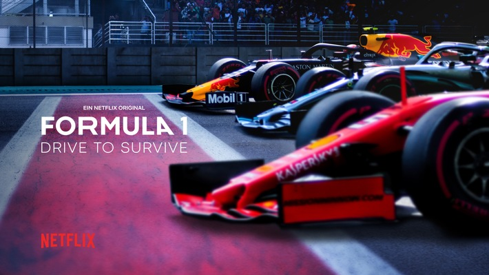 """Die Programmoffensive für Sky Sport F1 geht weiter: Sky präsentiert die Netflix Doku-Serie """"Drive to Survive"""""""