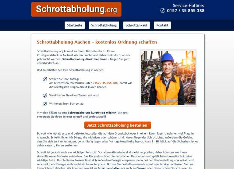 Altmetall recyceln: Schrottabholung Aachen nutzen