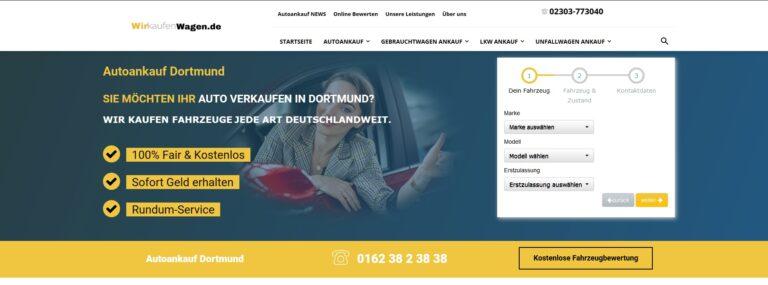 Autoankauf Hamm – wirkaufenwagen.de in Hamm