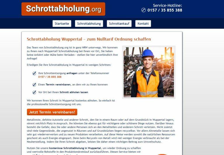 Schrottabholung in Wuppertal kauft Schrott, denn nicht nur Edelmetalle sind wertvoll