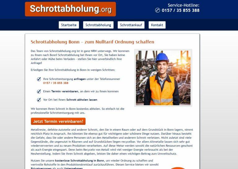 Kreislauf Wirtschaft fördern mit lokaler Schrotthändler in Bonn