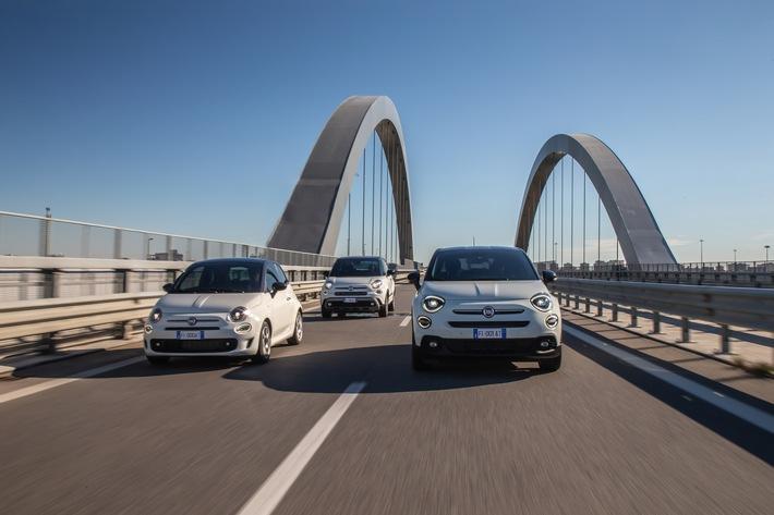 Neue Sondermodelle Fiat 500 Hey Google – die Technologie von Google trifft auf den Stil der Modellfamilie Fiat 500