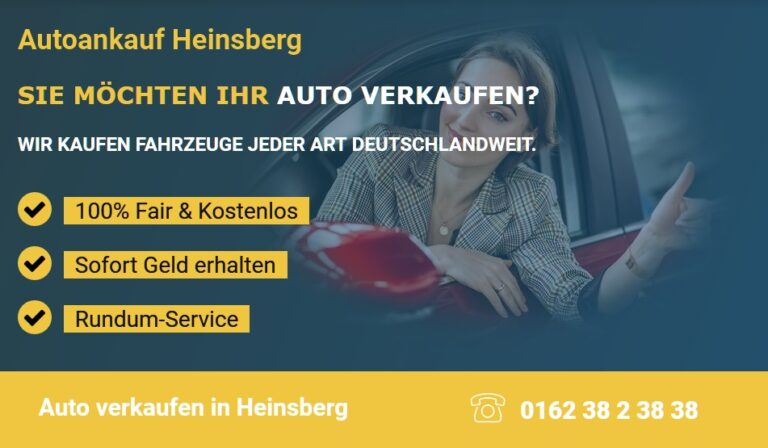 Autoankauf in Bielefeld- Auto verkaufen in Bielefeld zum Höchstpreis. Kostenlose Abholung in Bielefeld